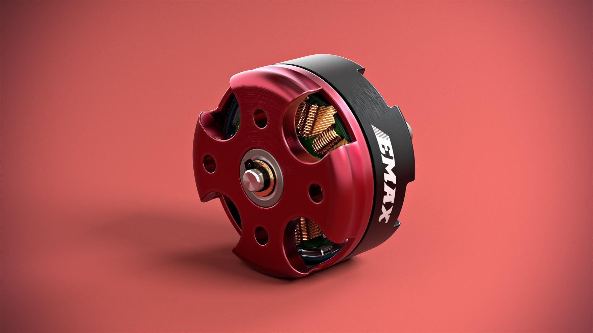 EMAX - Motor - 3D Produktanimation Werbung