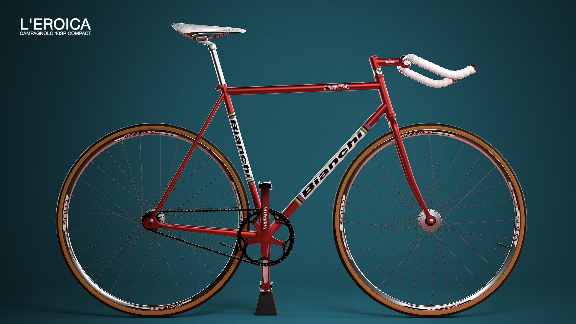 3d visualisierung Bianchi Bicycle